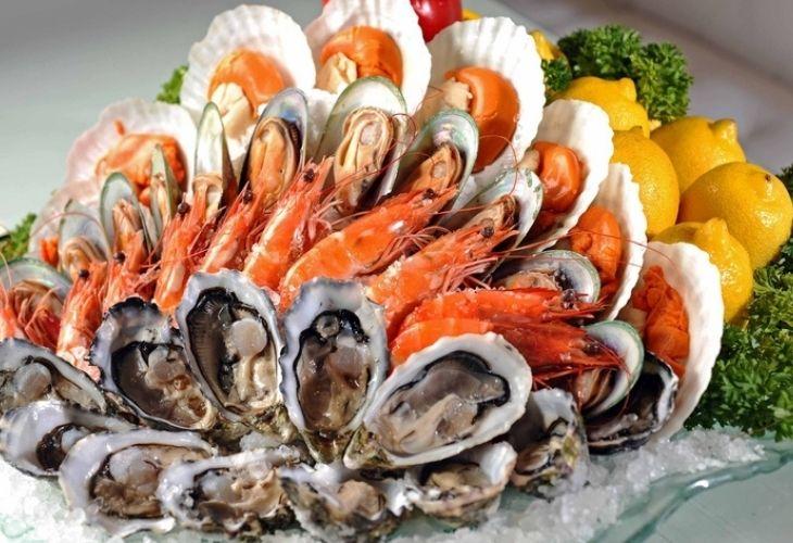 Hải sản là nhóm thực phẩm dễ gây dị ứng nhất, đặc biệt là các loại hải sản có vỏ