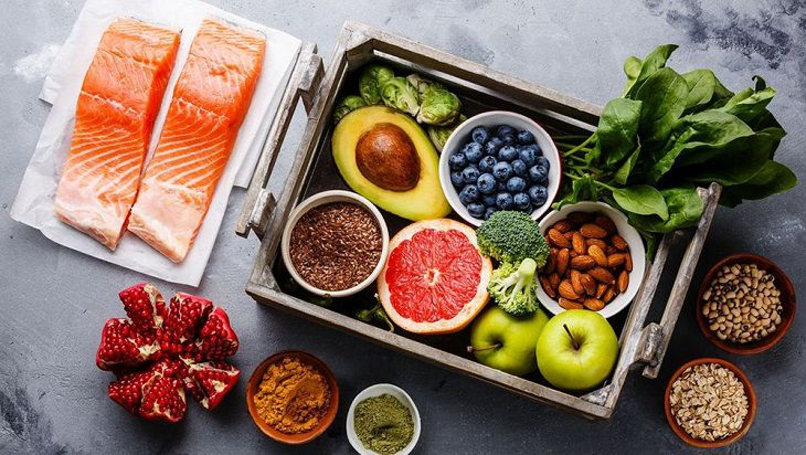 Lựa chọn đúng thực phẩm sẽ giúp hạn chế tình trạng bệnh