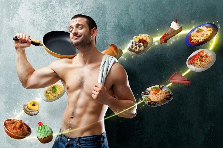 Nam giới nên có chế độ ăn uống lành mạnh để cải thiện sinh lý