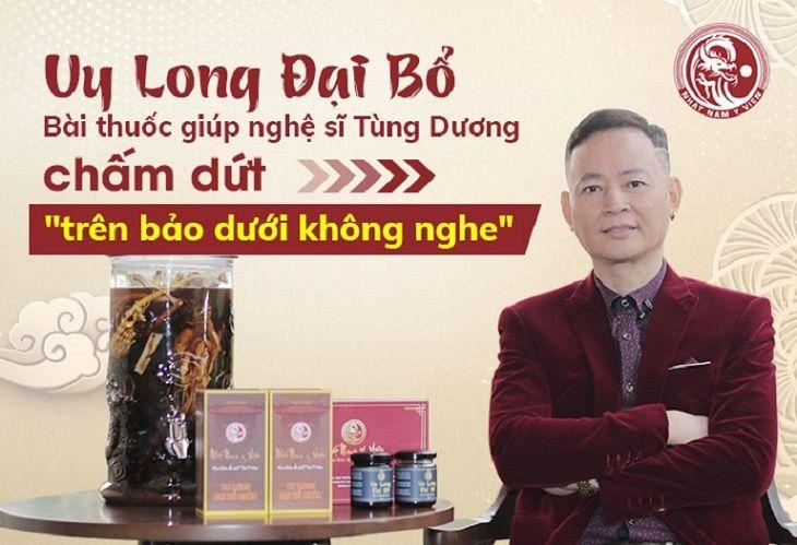 NS Tùng Dương chia sẻ về hiệu quả của bài thuốc