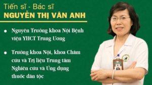 Bác sĩ chữa yếu sinh lý Nguyễn Thị Vân Anh theo phương pháp y học cổ truyền