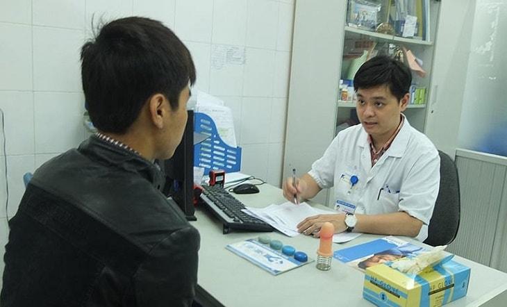 Bác sĩ Giang chữa bệnh nam khoa cho các quý ông