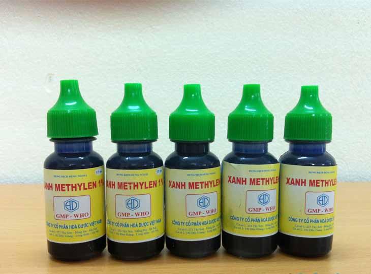 Dung dịch tím Metin 1% hỗ trợ chữa bệnh chàm cơ địa