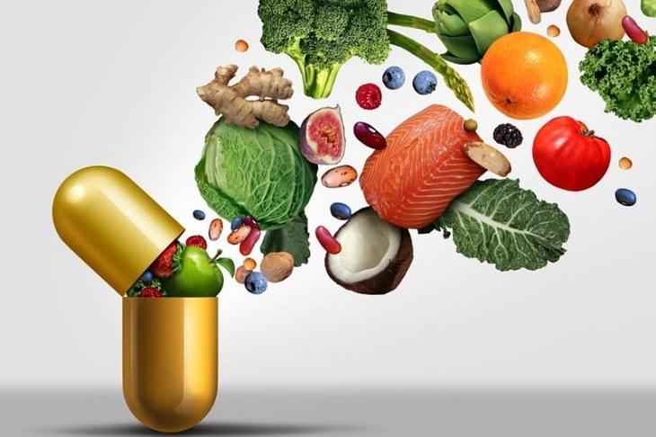 Thực phẩm chứa nhiều khoáng vi lượng giúp cải thiện hệ miễn dịch da, đẩy nhanh quá trình phục hồi tổn thương