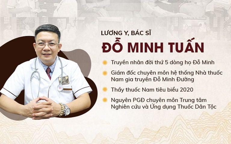 Lương y Đỗ Minh Tuấn chuyên gia nam khoa với 15 năm kinh nghiệm, GĐ chuyên môn nhà thuốc Đỗ Minh Đường
