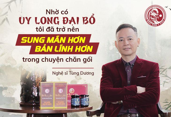 Nghệ sĩ Tùng Dương hạnh phúc chia sẻ về bài thuốc chữa yếu sinh lý từ Thái Y Viện triều Nguyễn