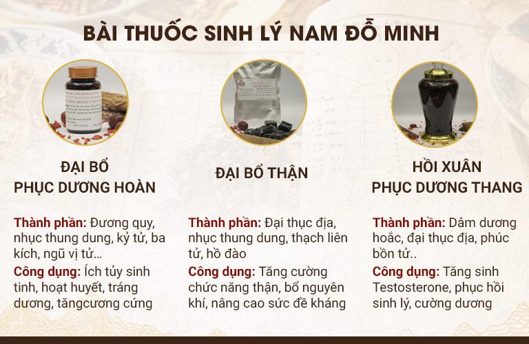 Sinh Lý Nam Đỗ Minh giúp cải thiện bệnh từ gốc