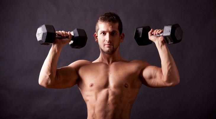 Tập tạ có thể cải thiện nồng độ hormone nam tự nhiên