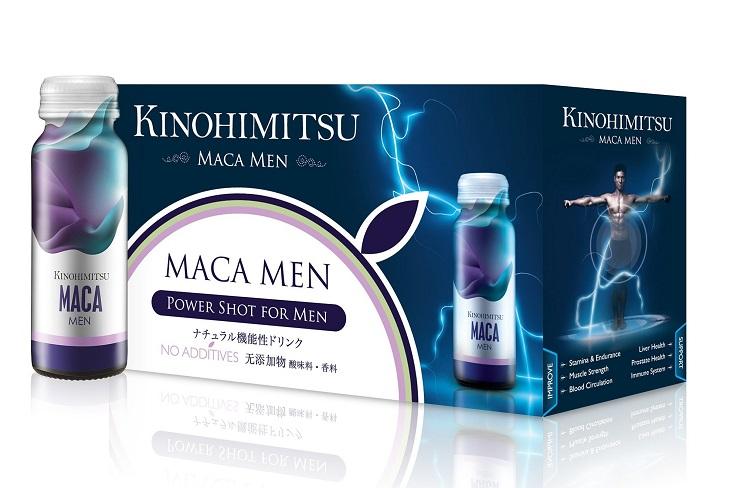 Kinohimitsu Maca Men có thành phần chính là Maca