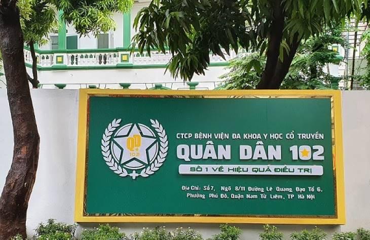 Hình ảnh bệnh viện Quân Dân 102 tại Hà Nội