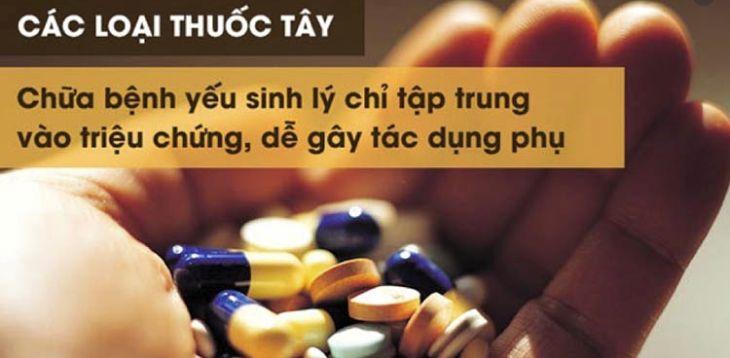 Hãy thận trọng với tác dụng phụ của thuốc Tây