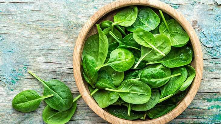 Rau bina là một trong những thực phẩm rất hữu ích cho nam giới