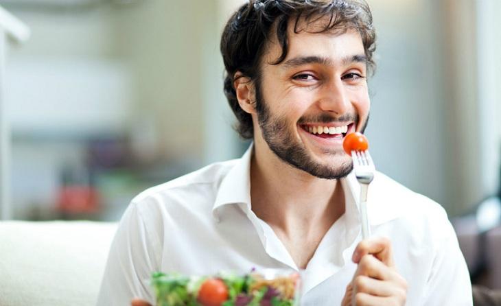 Chế độ ăn uống khoa học sẽ giúp phái mạnh tăng khả năng cương cứng cậu nhỏ
