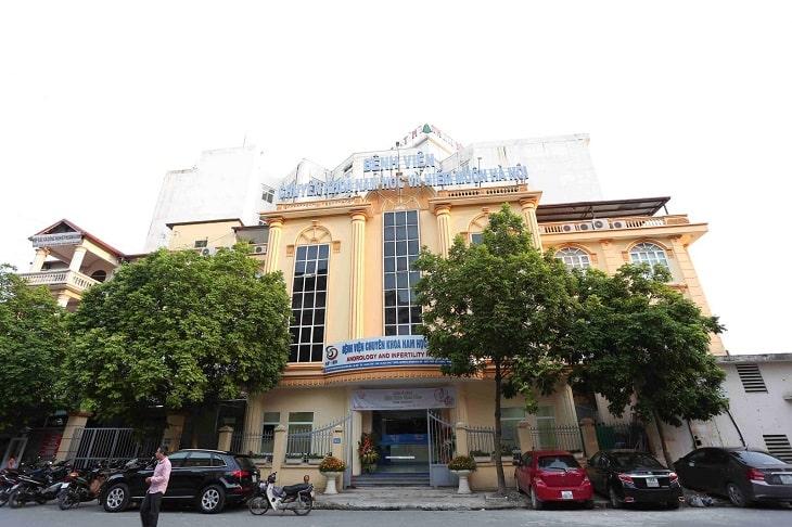 Bệnh viện Nam học và Hiếm muộn Hà Nội là nơi khám và điều trị xuất tinh sớm rất uy tín