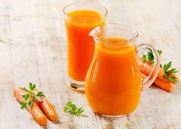 Nước ép cà rốt giúp kích thích sự cương cứng của dương vật