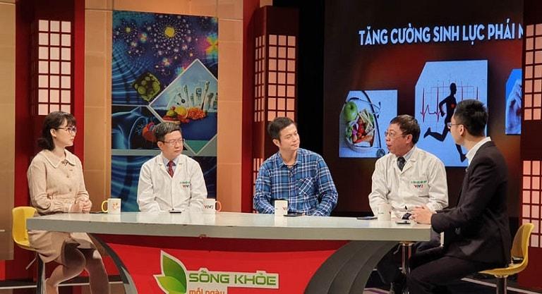 Lương y Đỗ Minh Tuấn - Đại điện nhà thuốc Đỗ Minh Đường tư vấn về sinh lý trên VTV2