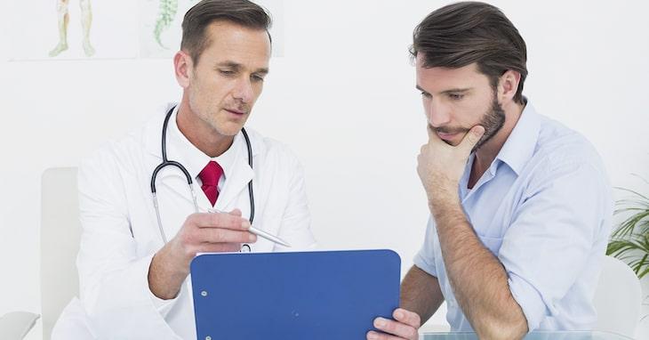 Nam giới cần tuân thủ đúng liệu trình điều trị của bác sĩ để đạt được kết quả mong muốn