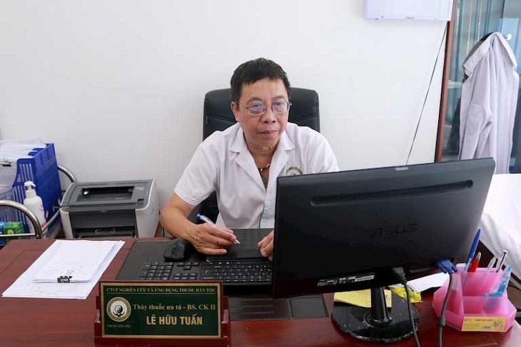 BS Lê Hữu Tuấn đã từng chữa trị thành công cho rất nhiều ca mắc bệnh lý nam khoa