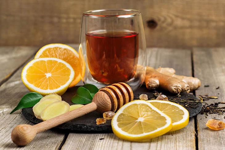 Bài thuốc kết hợp gừng và mật ong