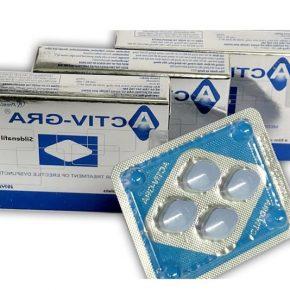 Thuốc Activ Gra được bào chế dưới dạng viên nén