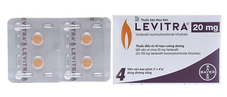 Thuốc được chỉ định cho nam giới bị liệt dương, yếu sinh lý