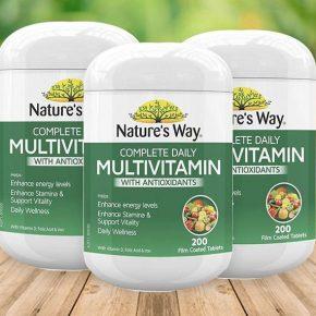 Review sản phẩm Nature Way Multivitamin chi tiết nhất