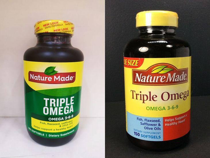 Nature made triple omega 3-6-9 chữa nhiều thành phần dinh dưỡng đặc biệt tốt cho sức khỏe