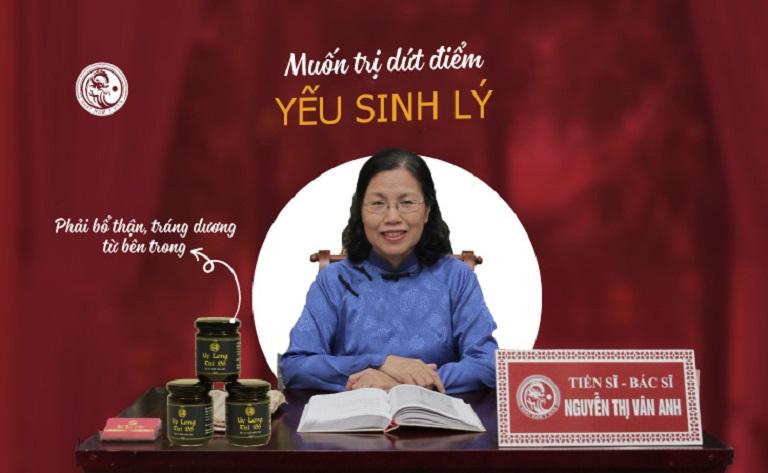 Quan điểm điều trị yếu sinh lý của bác sĩ Vân Anh