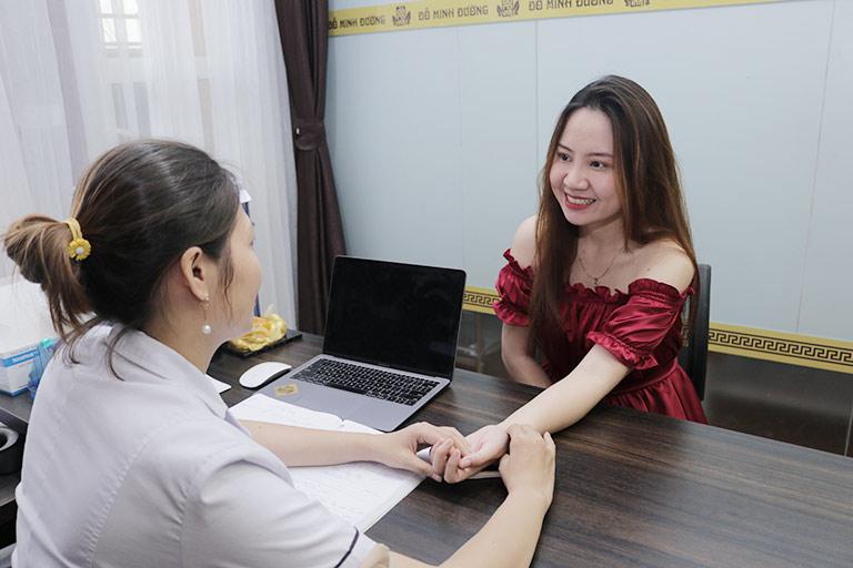 Bệnh nhân tin tưởng chữa suy giảm ham muốn tại Đỗ Minh Đường