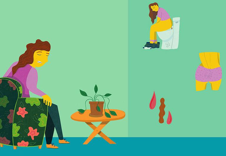 chữa bệnh trĩ tại nhà hiệu quả
