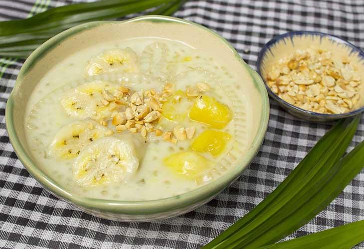 Chè chuối thường được sử dụng vào mùa hè
