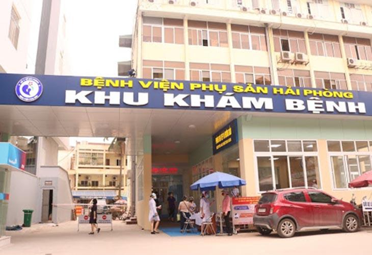 Bệnh viện Phụ sản Hải Phòng là đơn vị hàng đầu trong điều trị các bệnh lý nam khoa và phụ khoa