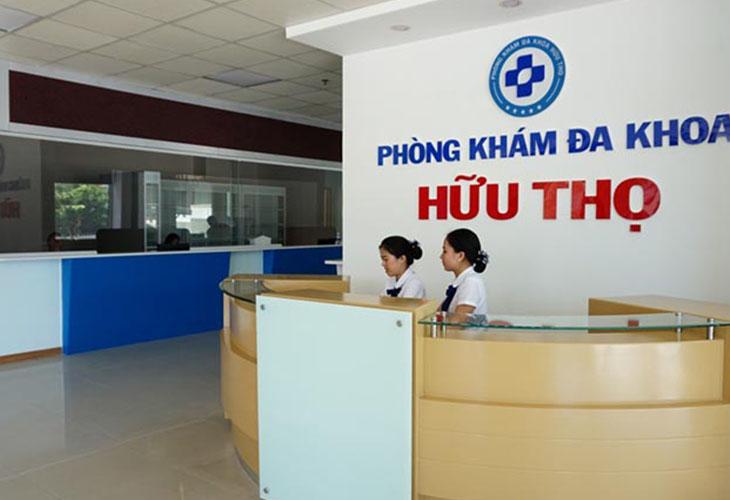 Phòng khám Đa khoa Hữu THọ là địa chỉ điều trị xuất tinh sớm cũng như các bệnh lý nam khoa uy tín