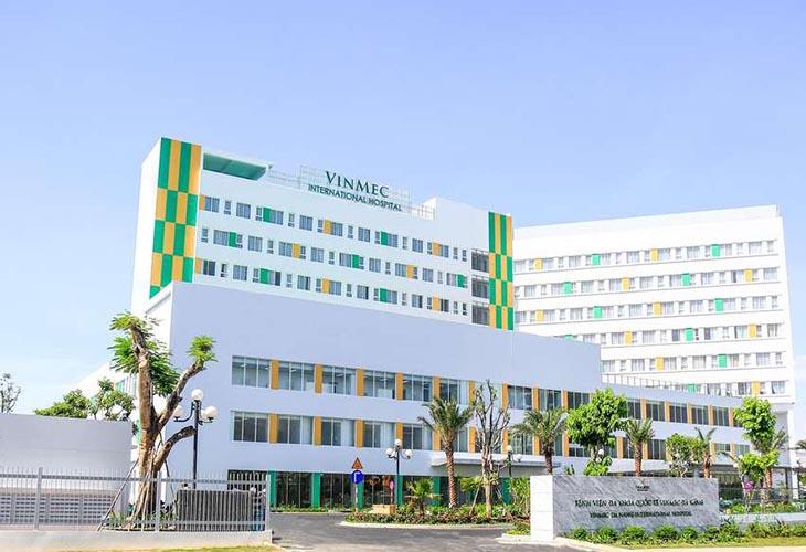 Bệnh viện Quốc tế Vinmec tại Đà Nẵng có quy mô hơn 200 giường bệnh