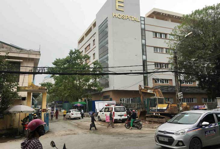Bệnh viện E Hà Nội là địa chỉ uy tín chữa bệnh đau dạ dày