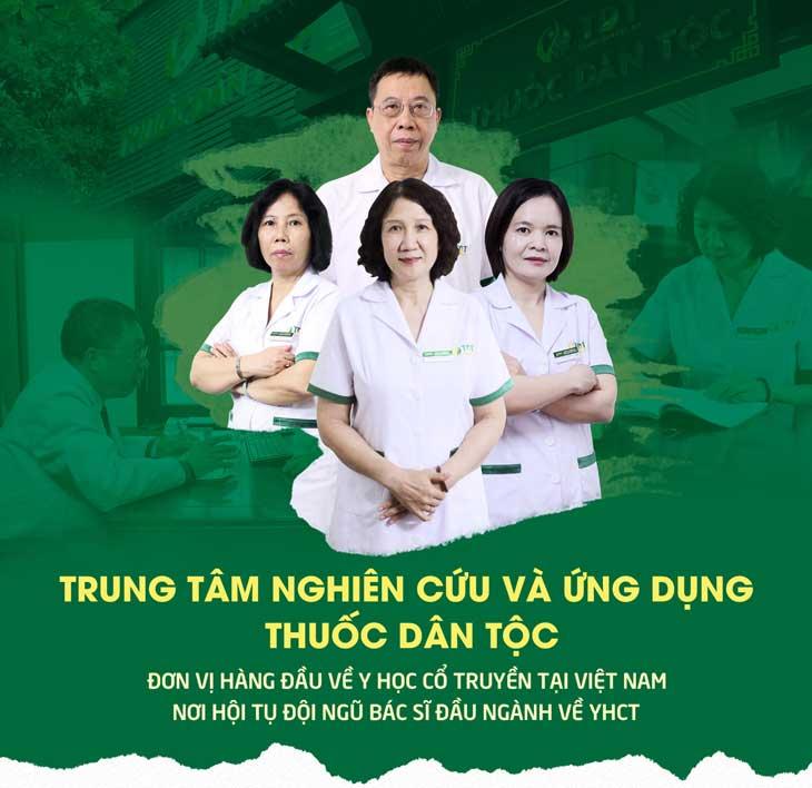 Trung tâm NC&ƯD Thuốc Dân Tộc: Đơn vị hàng đầu chữa dạ dày bằng phương pháp YHCT tại Việt Nam