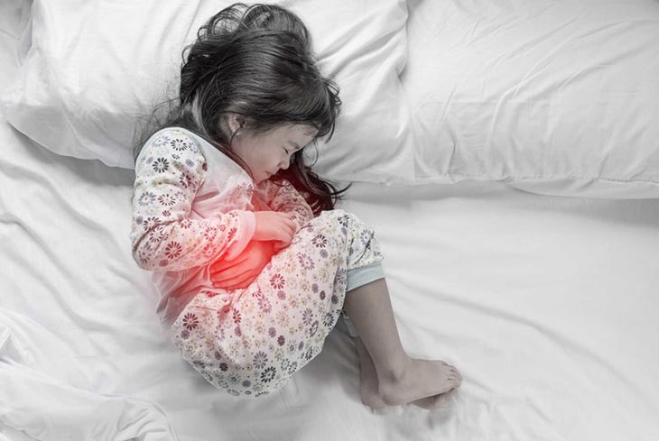 Đau dạ dày ở trẻ em thường khó nhận biết