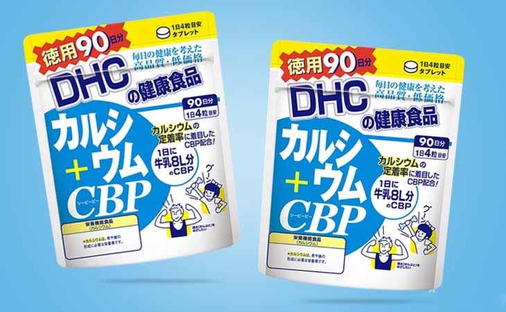 Hình ảnh túi viên uống DHC canxi