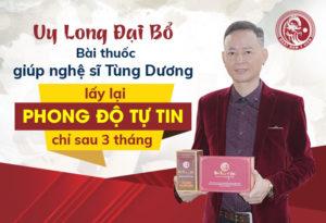 Nghệ sĩ Tùng Dương chia sẻ cách tăng cường sinh lý cực hiệu quả từ thảo dược Hoàng Cung