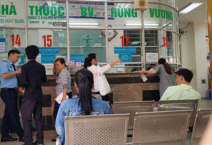 Bệnh viện Hùng Vương có 30 khoa, phòng với 20 khoa lâm sàng, cận lâm sàng