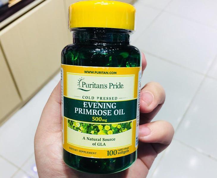Tinh dầu hoa anh thảo của thương hiệu Puritan's Pride