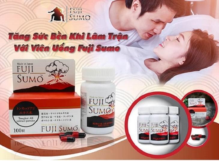 Fuji Sumo tăng sự bền bỉ cho nam giới trong mỗi cuộc yêu