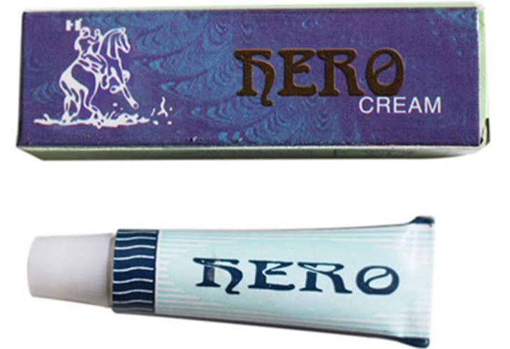 Hero cream có giá thành rẻ, không mùi, không màu, không gây kích ứng