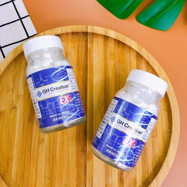 Viên uống bổ sung rất nhiều chất dinh dưỡng cần thiết cho cơ thể