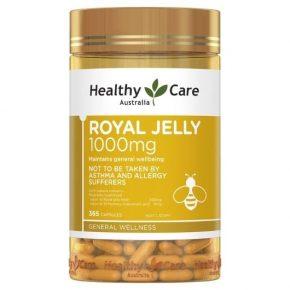 Healthy Care Royal Jelly 1000mg là sản phẩm nhập khẩu trực tiếp từ Úc
