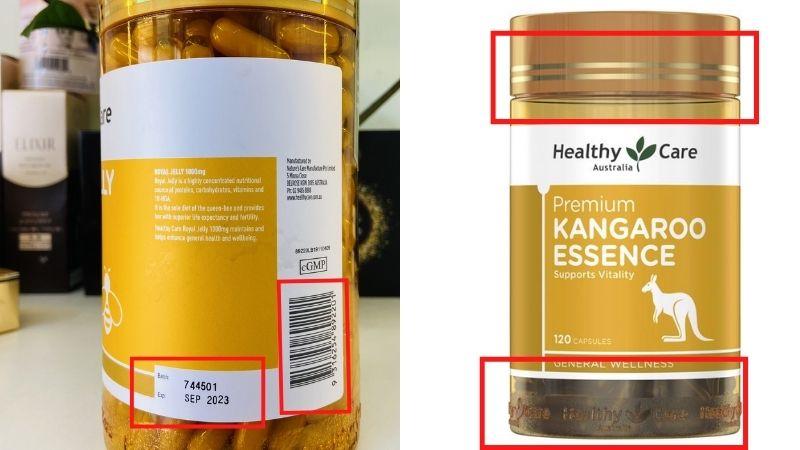 Cách phân biệt hàng Kangaroo Essence thật giả