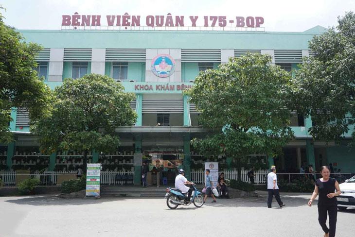 Hình ảnh bệnh viện Quân y 175, bệnh viện trực thuộc Bộ Quốc Phòng Việt Nam