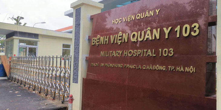 Bệnh viện Quân y 103, cơ sở khám bệnh đau dạ dày đảm bảo, uy tín