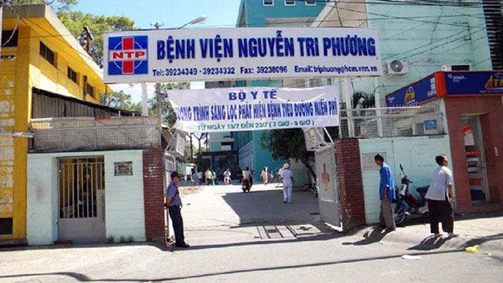 Bệnh viện Nguyễn Tri Phương chữa đau dạ dày hiệu quả