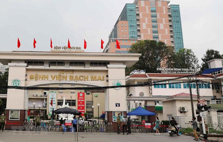 Bệnh viện Bạch Mai, cơ sở y tế khám chữa đau dạ dày uy tín tại Hà Nội